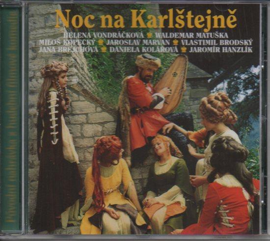 Noc na Karlštejně soundtrack