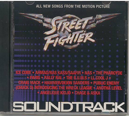 Street Fighter: Poslední boj soundtrack