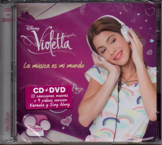 Violetta (soundtrack) Karaoke CD + DVD