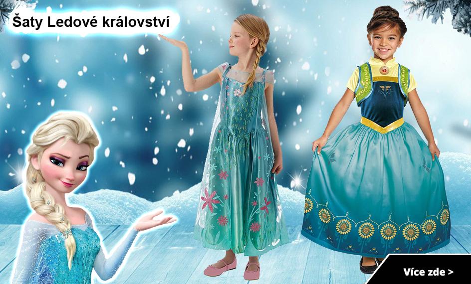 Šaty Ledové království