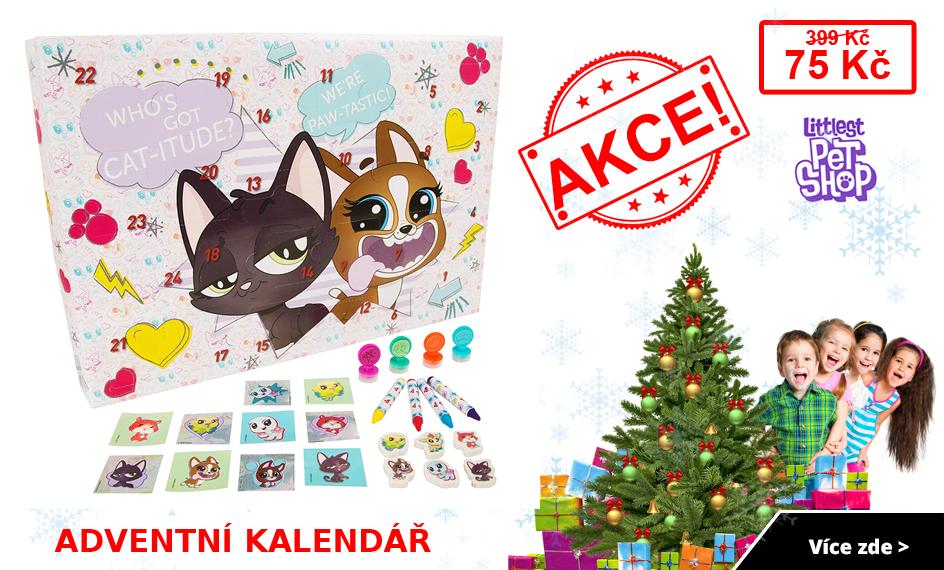 Adventní kalendář Littlest Pet Shop