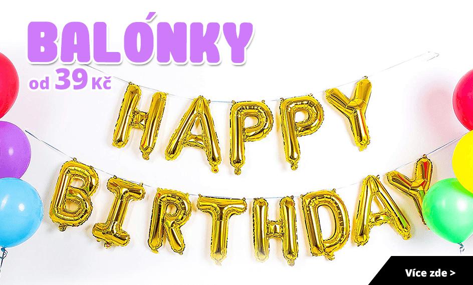narozeninove balonky