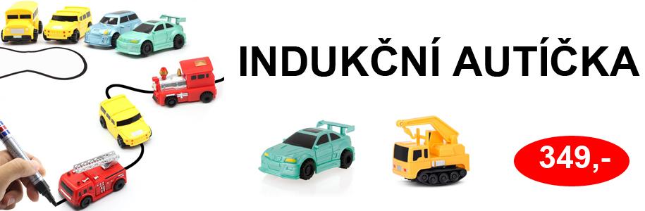 Indukční autíčka