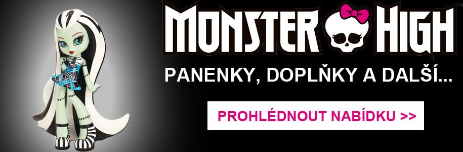 Monster High - Panenky, doplňky a mnoho dalšího