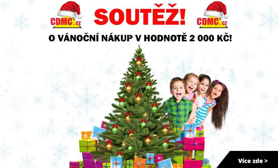 Soutěž o vánoční nákup v hodnotě 2 000 Kč