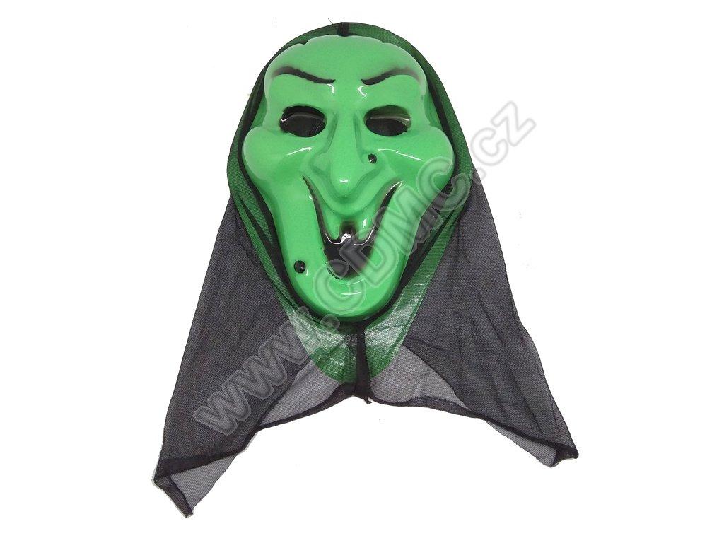 CDMC Maska Upír Zelený 2