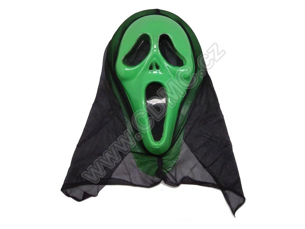CDMC Maska Vřískot zelený