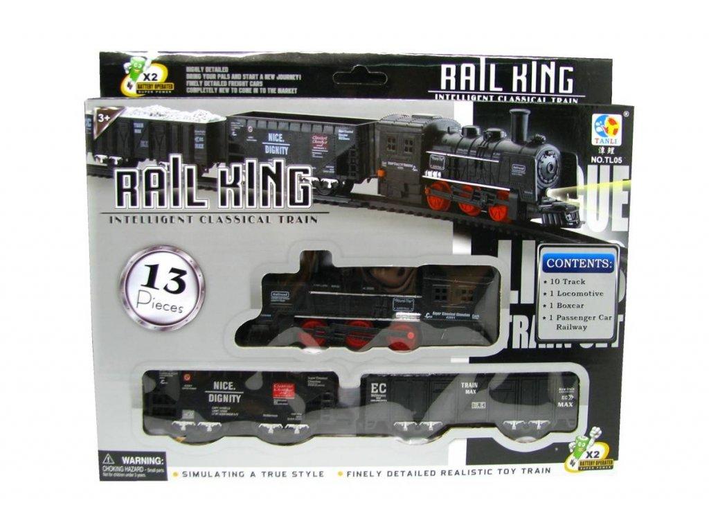 Elektrický vláček Rail King Malý A (2053)