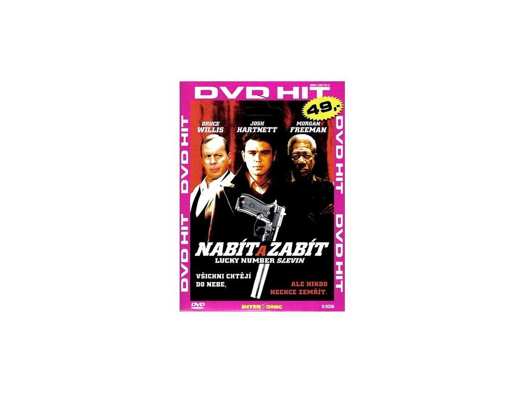 Nabít a zabít DVD papírový obal