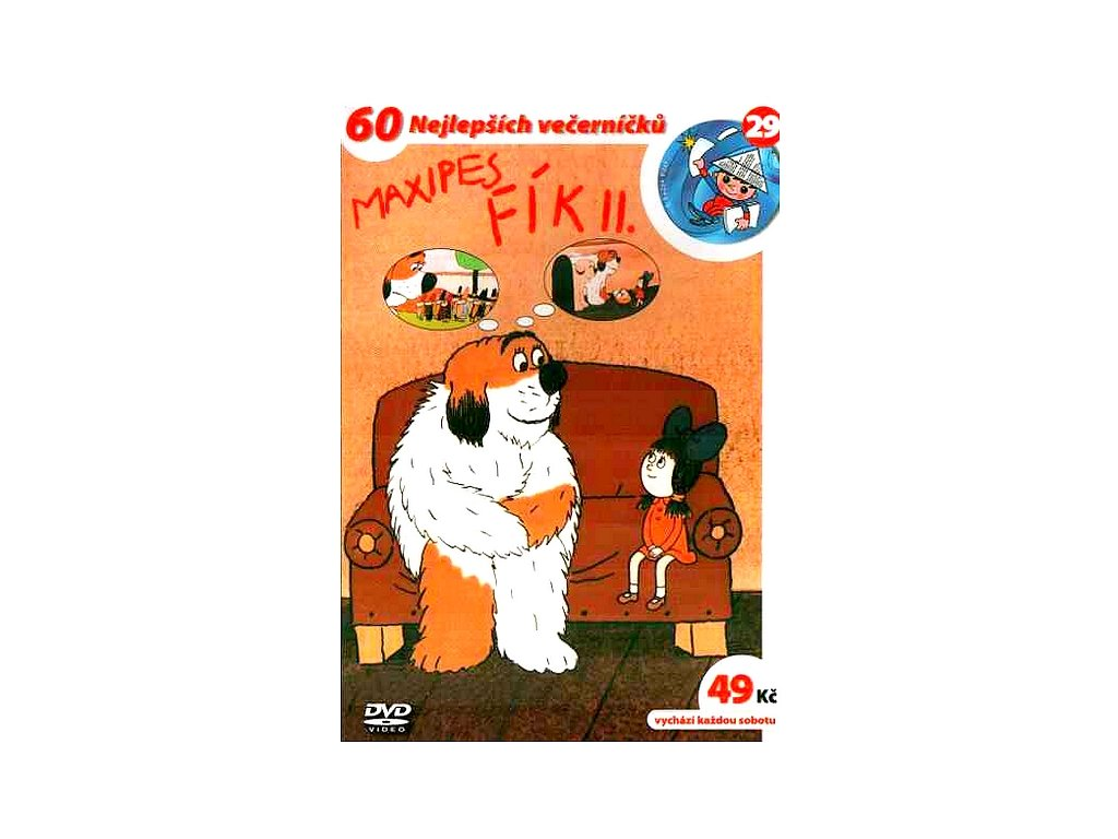 Maxipes Fík II. DVD papírový obal