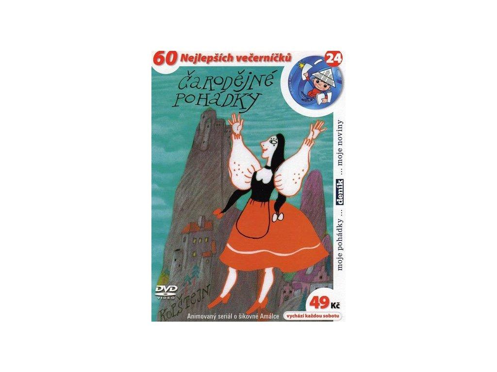 Čarodějné pohádky DVD papírový obal