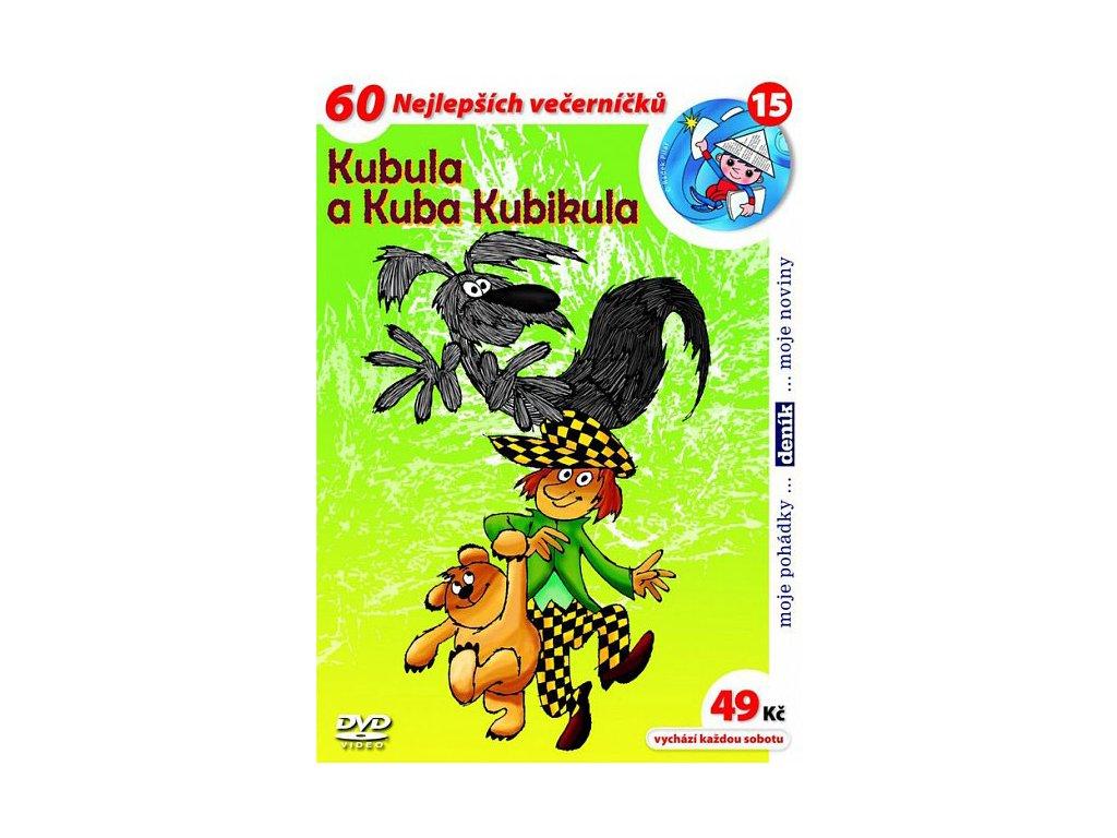 Kubula a Kuba Kubikula DVD papírový obal