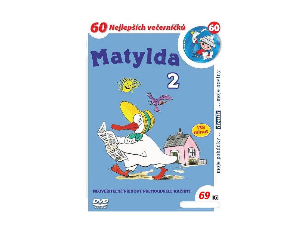 Matylda 2 DVD papírový obal