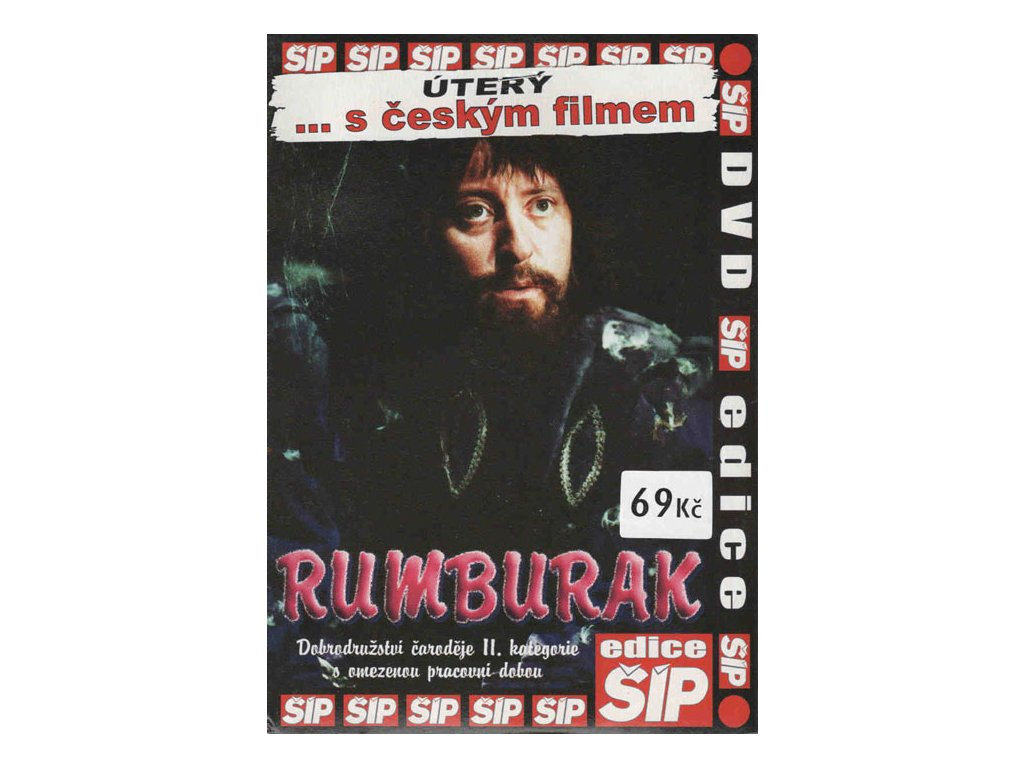 Rumburak DVD papírový obal