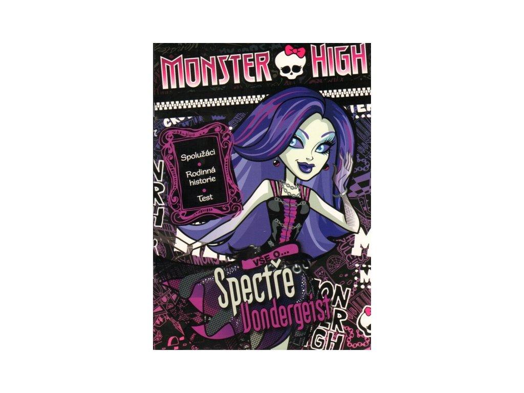 Monster High Vše o Spectře Vondergeist (7234)