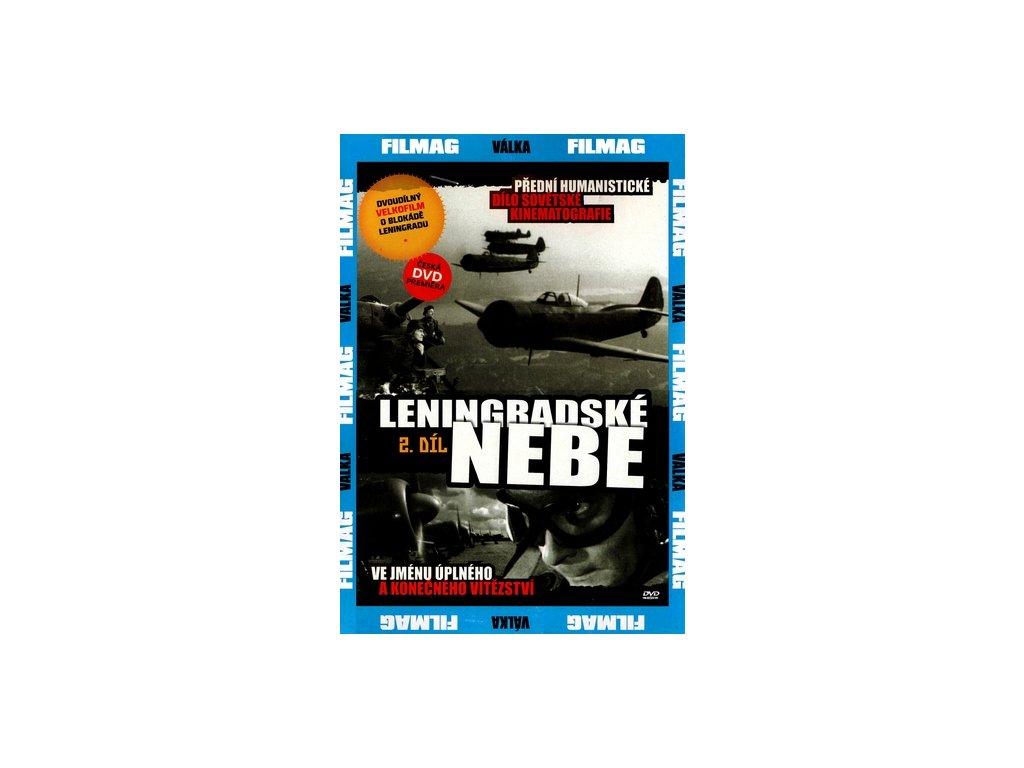 Leningradské nebe II. DVD papírový obal