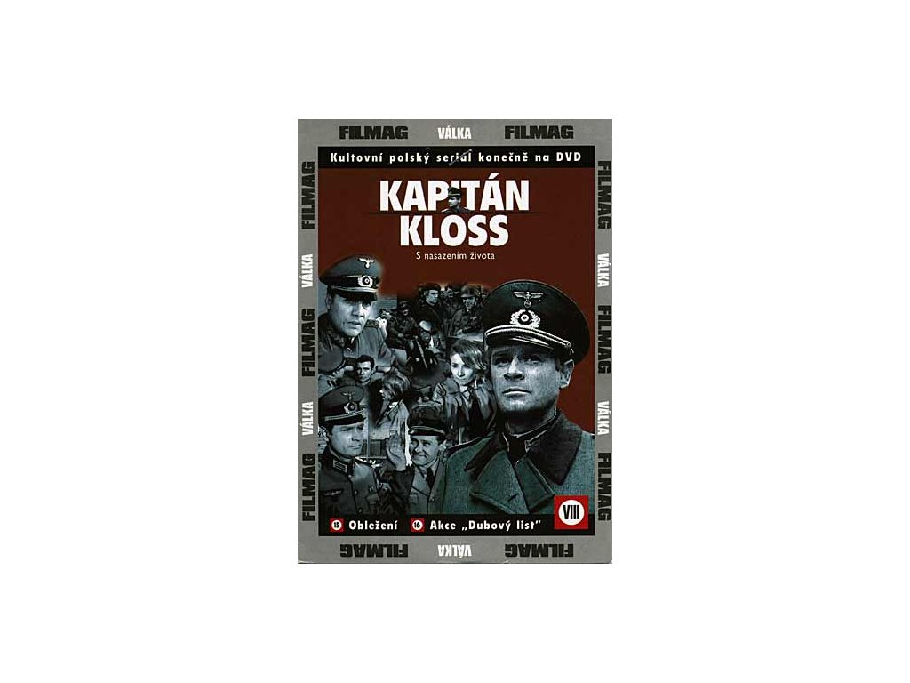 Kapitán Kloss VIII / 15.+16. DVD papírový obal