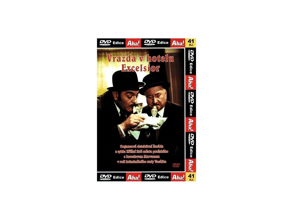 Vražda v hotelu Excelsior DVD papírový obal