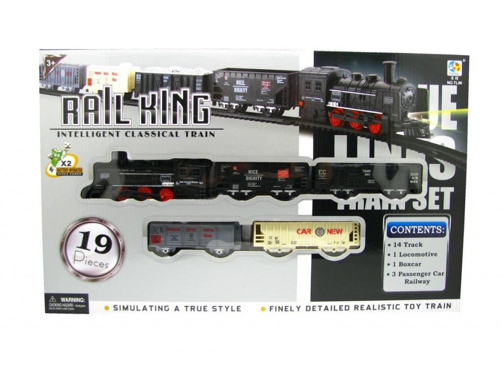 Elektrický vláček Rail King Velký B (2459)