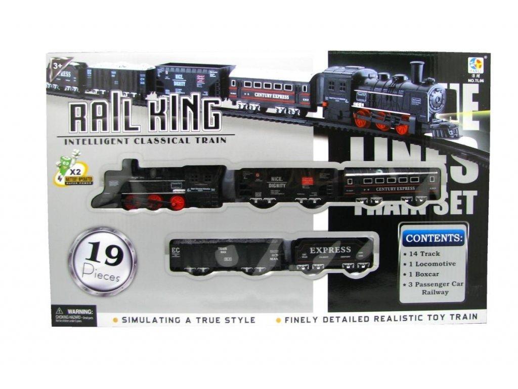Elektrický vláček Rail King Velký C (2459)