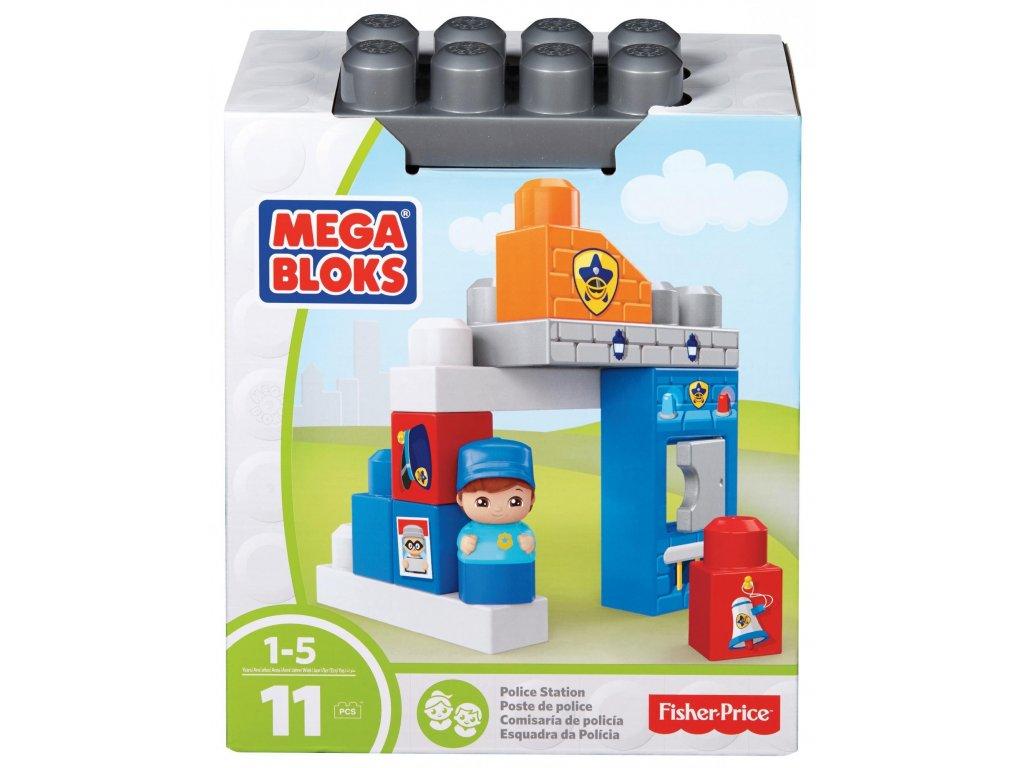 Mega bloks Základní set Policejní stanice (8584)