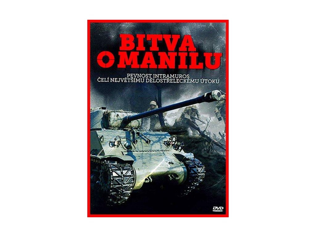 Bitva o Manilu DVD papírový obal