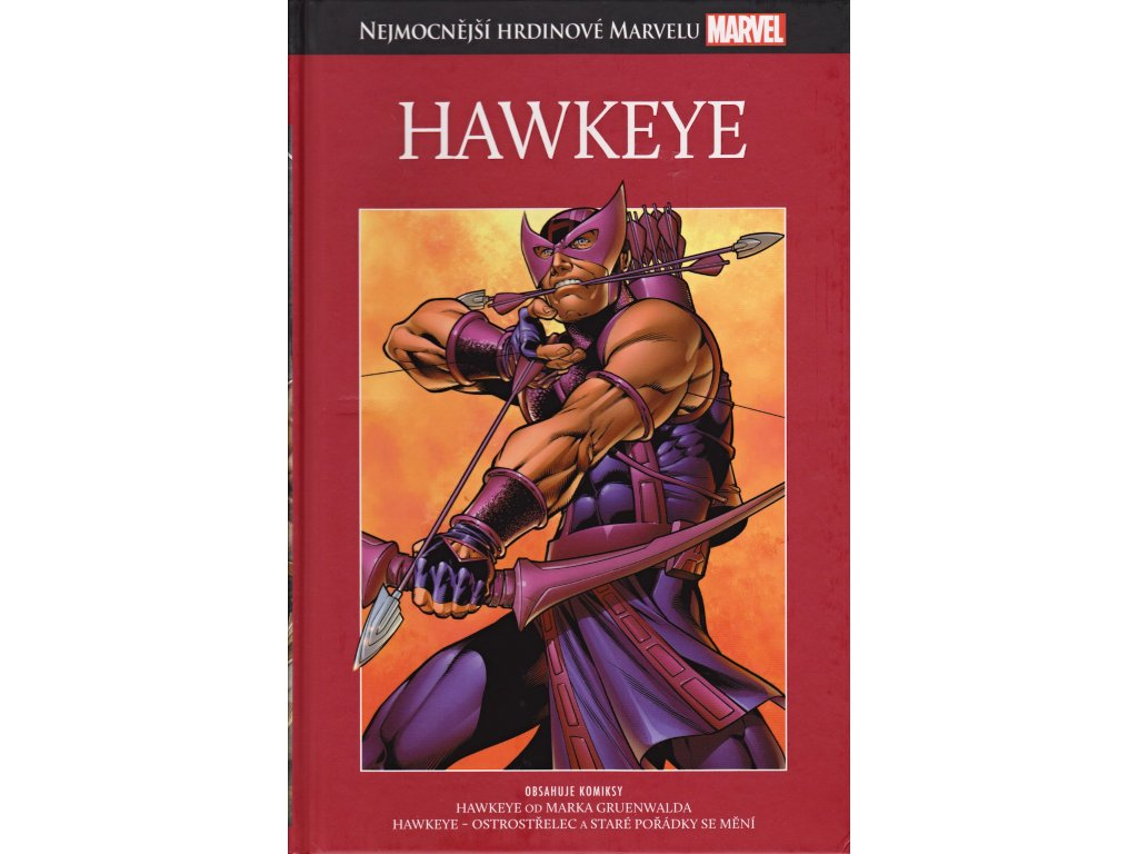 Nejmocnější hrdinové Marvelu: Hawkeye (4)