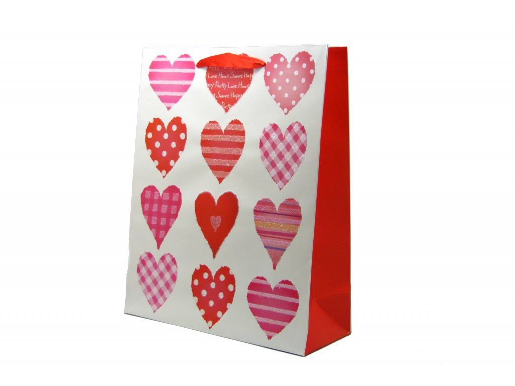 Dárková taška střední Love A (0132)