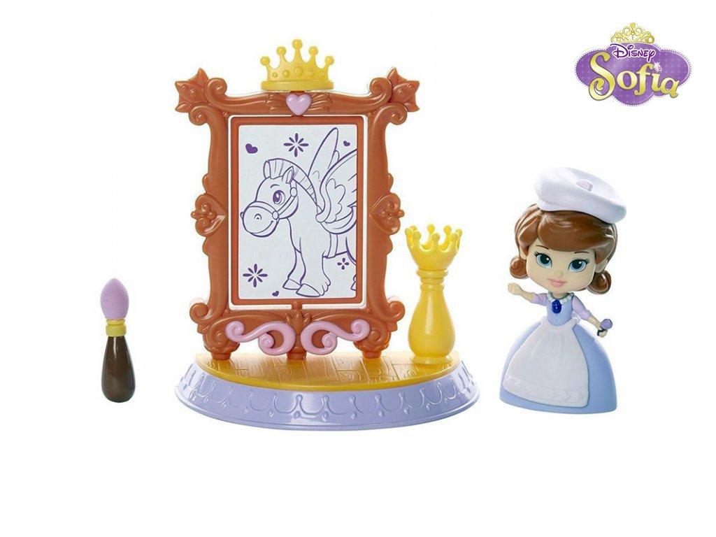 Disney Sofie První: mini hrací set - škola kreslení (2520)