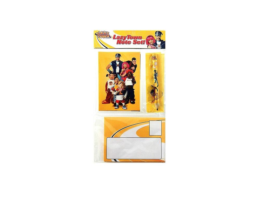 Lazy Town - Poštovní set