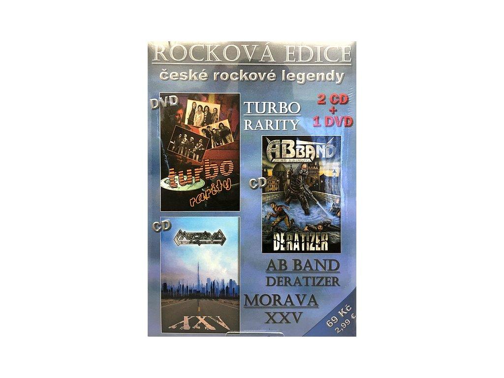 2CD + 1DVD - Rocková edice České rockové legendy (1636)