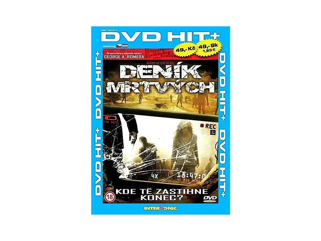 Deník mrtvých DVD papírový obal