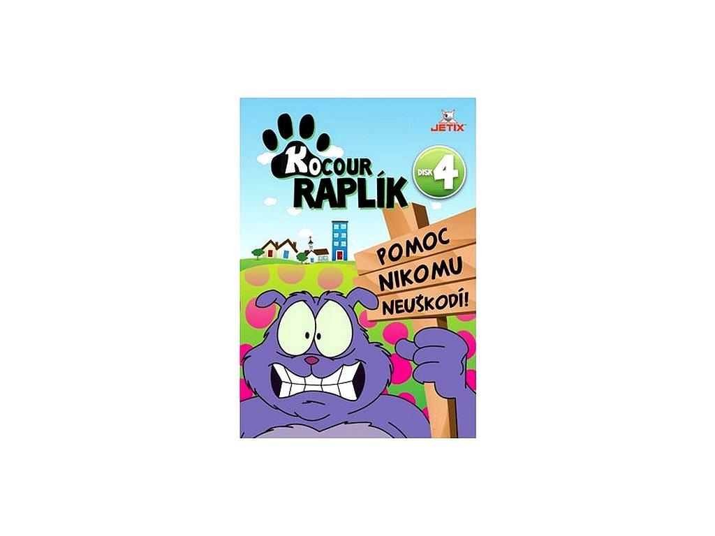 Kocour Raplík 4 DVD papírový obal