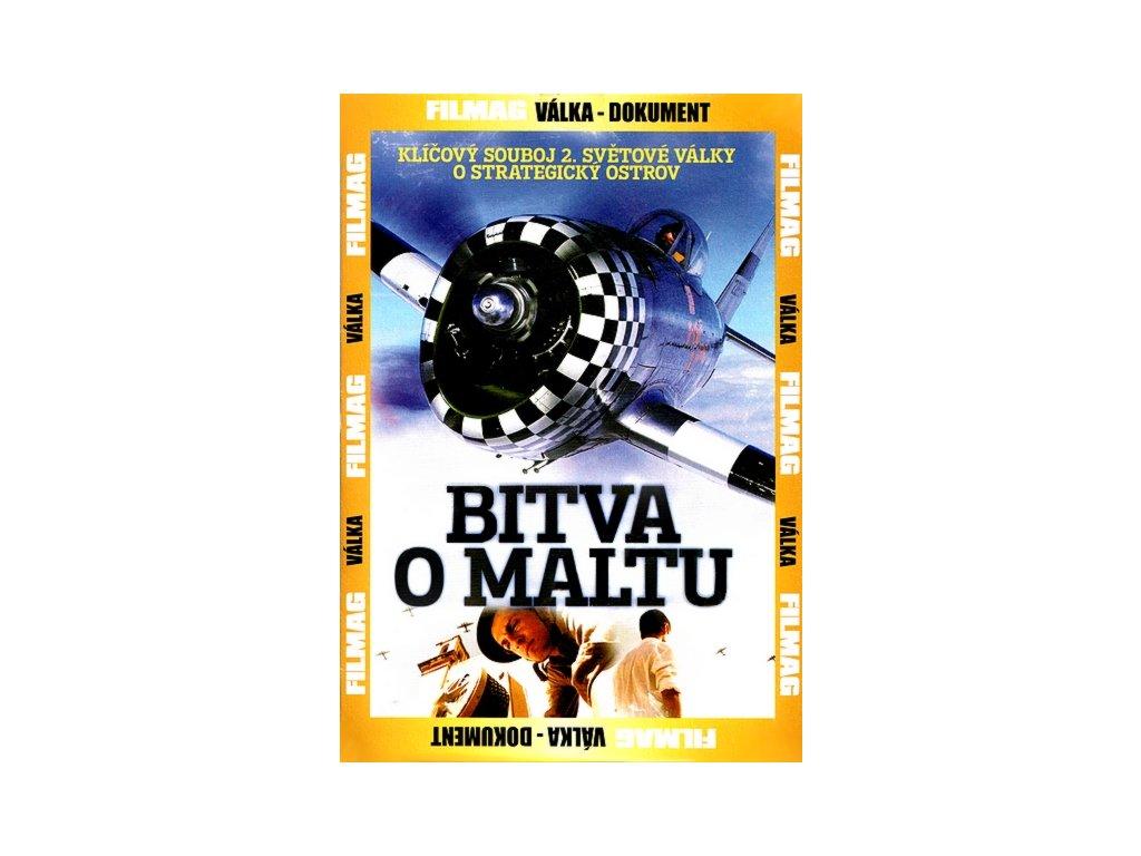 Bitva o Maltu DVD papírový obal