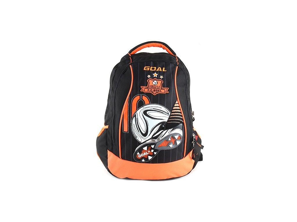 Target Školní batoh Goal 3D nášivka kopačky a fotbalového míče (2259)