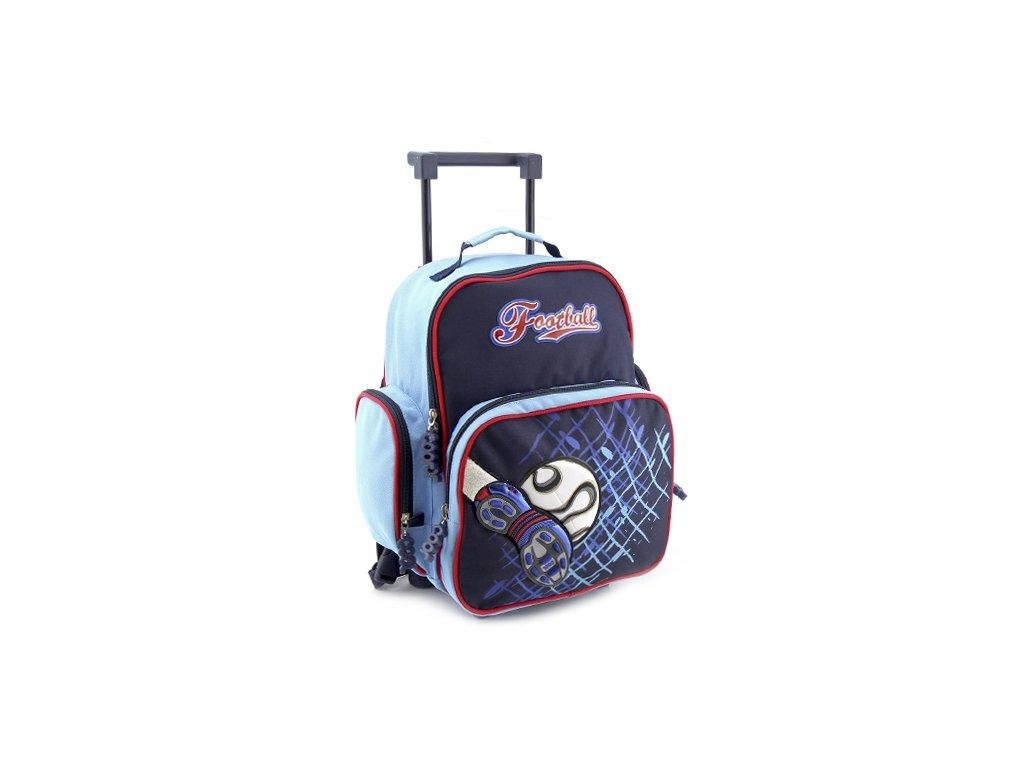 Školní batoh trolley Cool football kopačka & míč (7576)