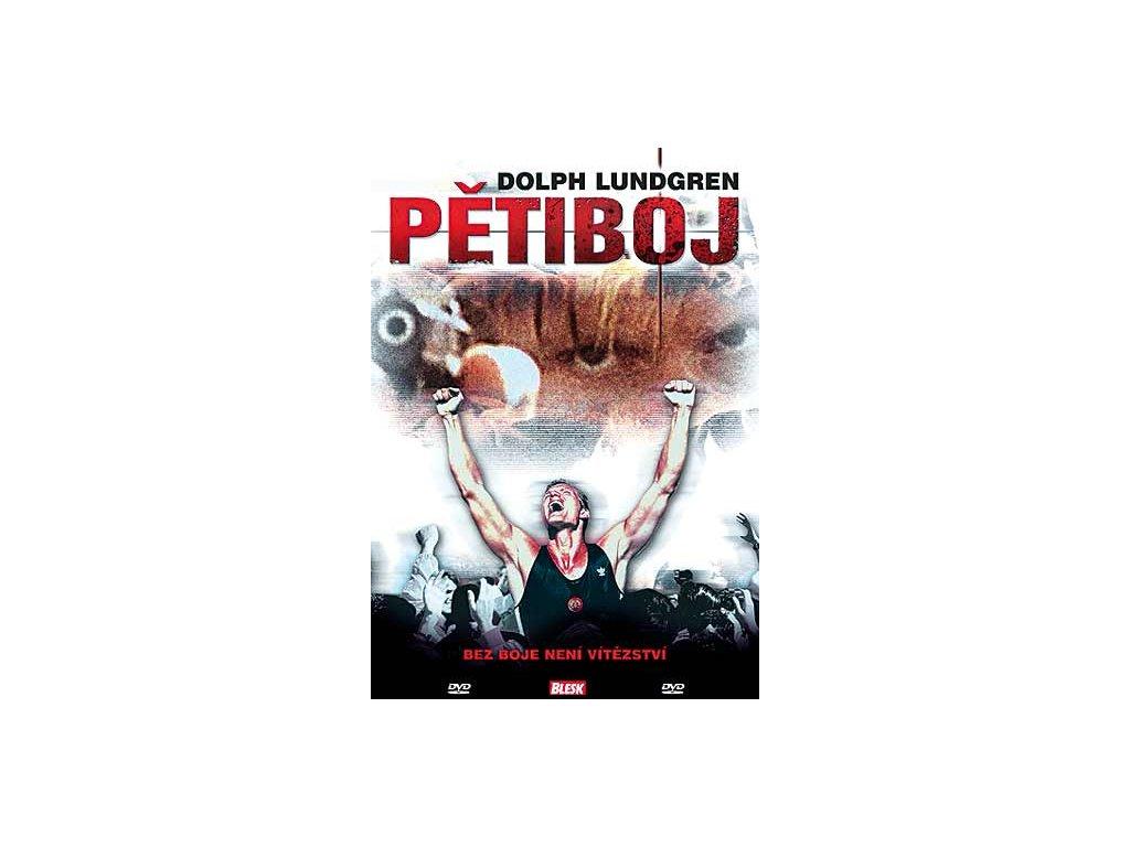 Pětiboj DVD papírový obal