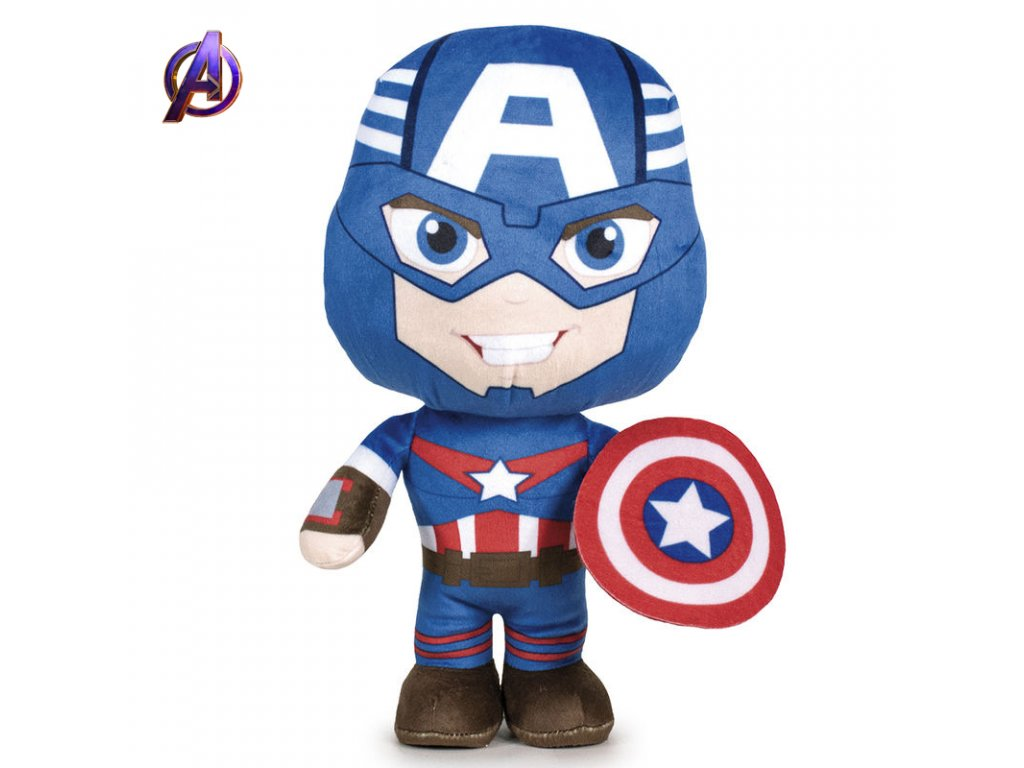 Avengers: Plyšový Captain America (8461)