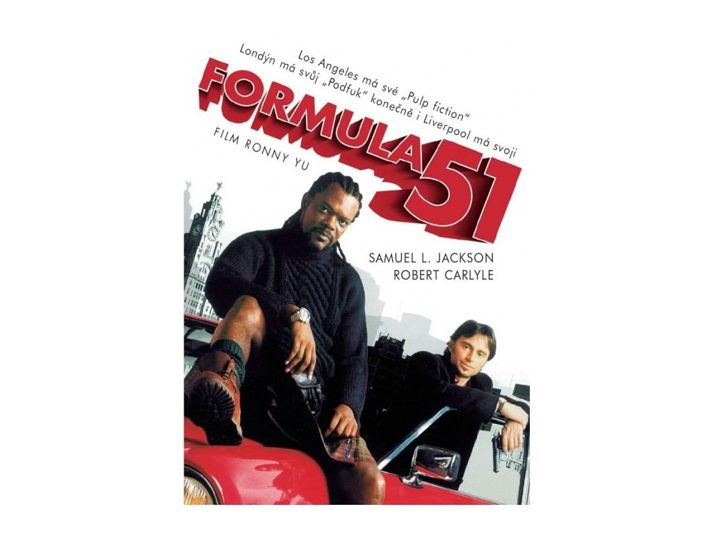 Formula 51 DVD papírový obal