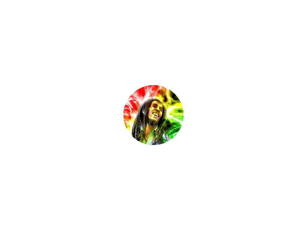 Placka Bob Marley 25mm (022)