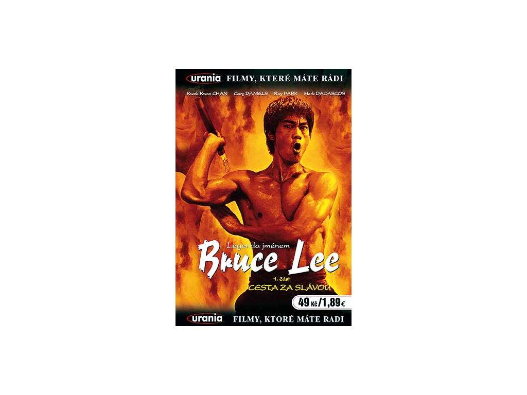 Legenda jménem Bruce Lee: Cesta za slávou DVD papírový obal