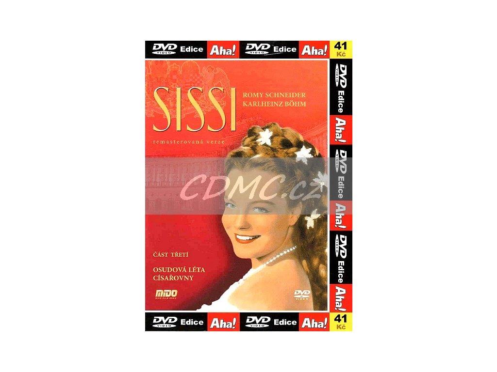 Sissi 3 Osudová léta císařovny DVD papírový obal