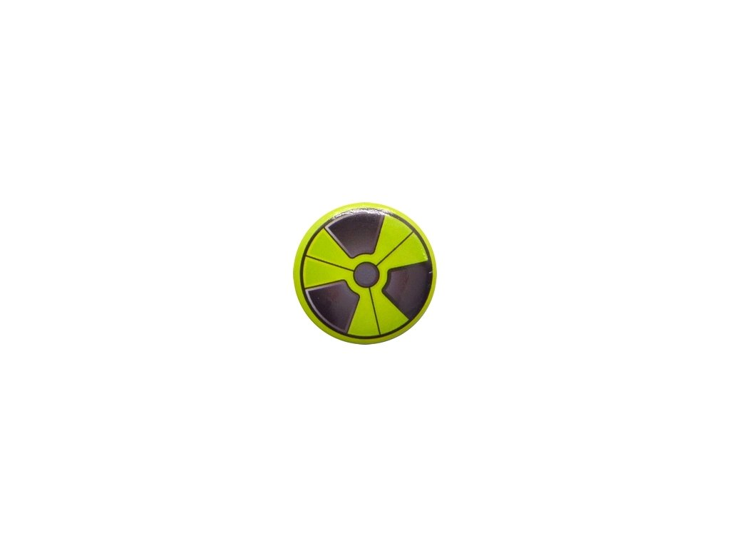Placka Radioactive 25mm (050)