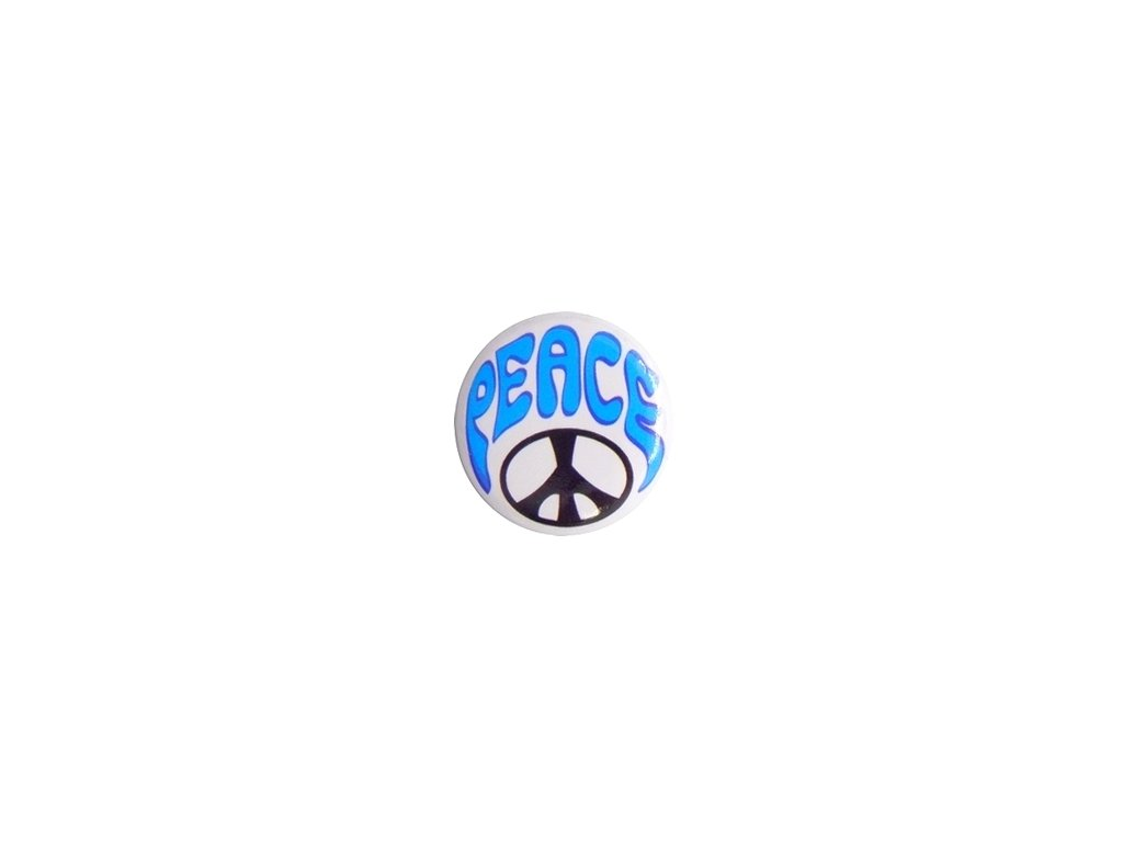 Placka Peace 25mm (052)
