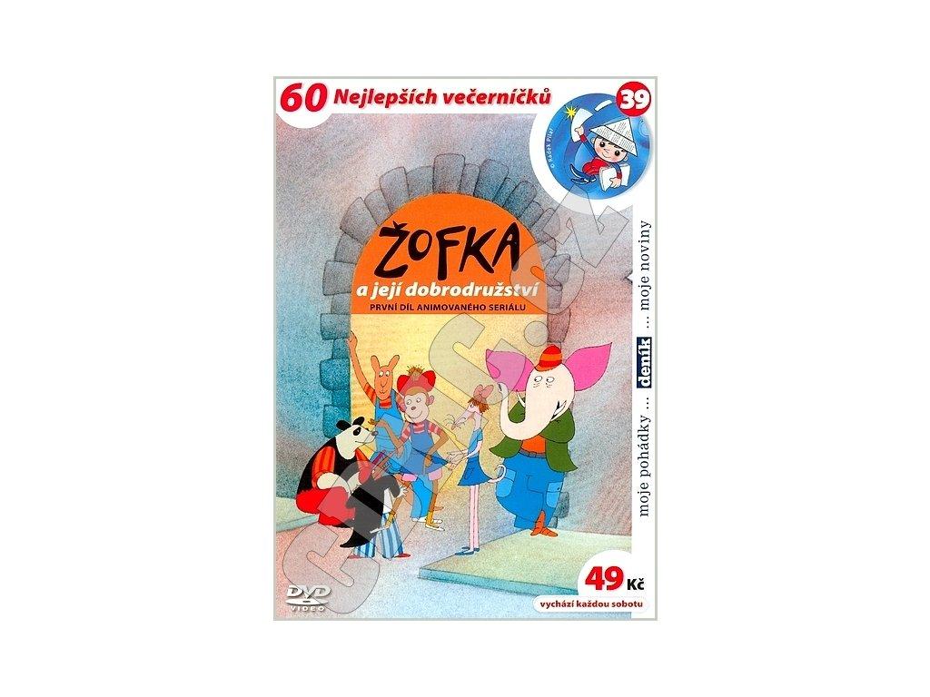 Žofka a její dobrodružství 1 DVD papírový obal