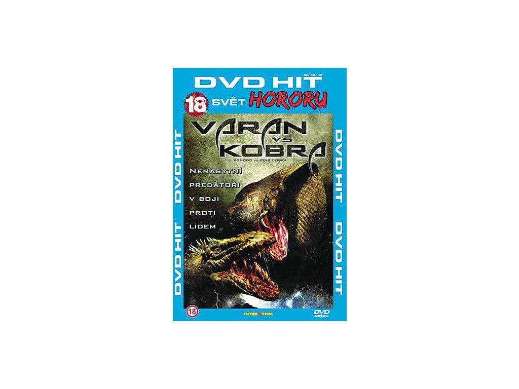 Varan vs Kobra DVD papírový obal