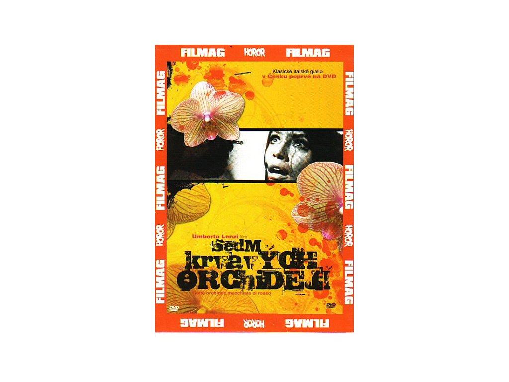 Sedm krvavých orchidejí DVD papírový obal