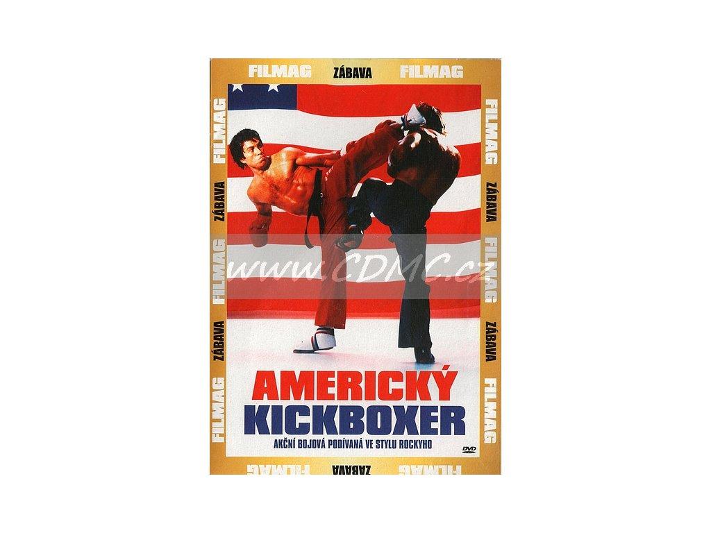 Americký kickboxer DVD papírový obal