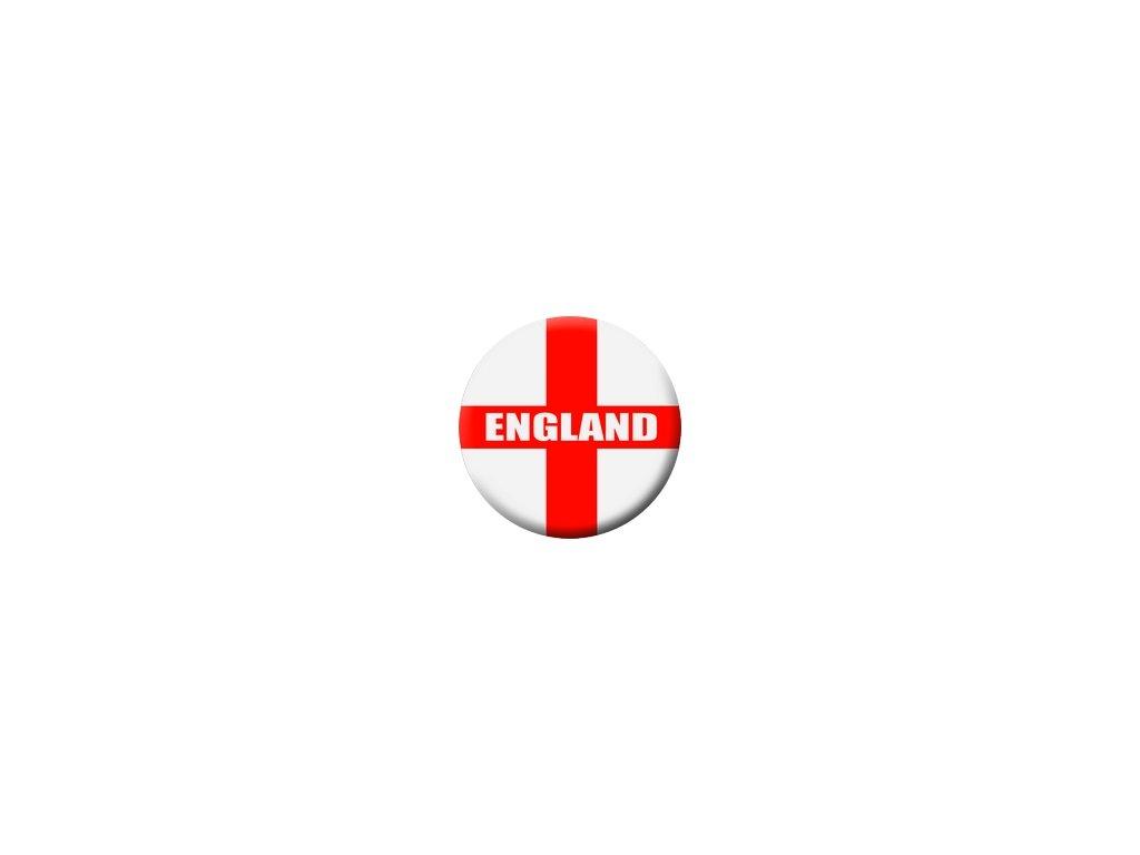 Placka England 25mm (054)