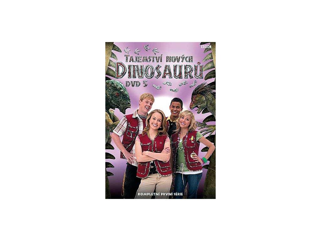 Tajemství nových dinosaurů 5 DVD papírový obal
